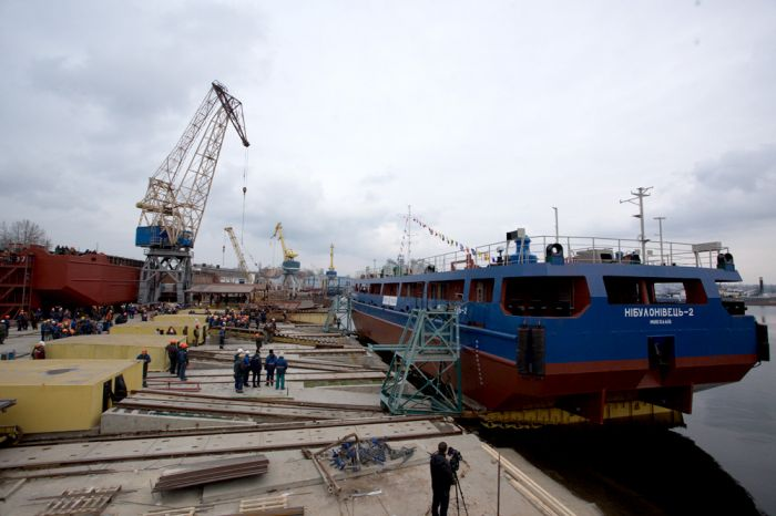 """Нибулон"" спустил на воду новое судно"