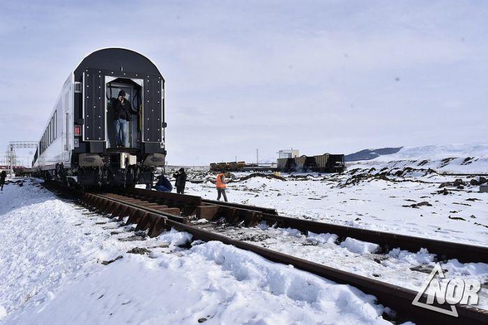 Первый тестовый пассажирский поезд Stadler прибыл в Грузию (фото, видео)