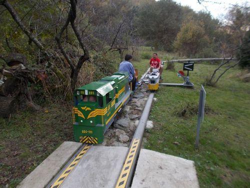 Самодельные железные дороги