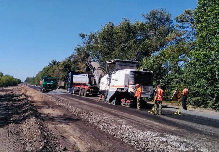 Свершилось: начался ремонт трассы Днепр-Кривой Рог (Фото). Новости Днепра
