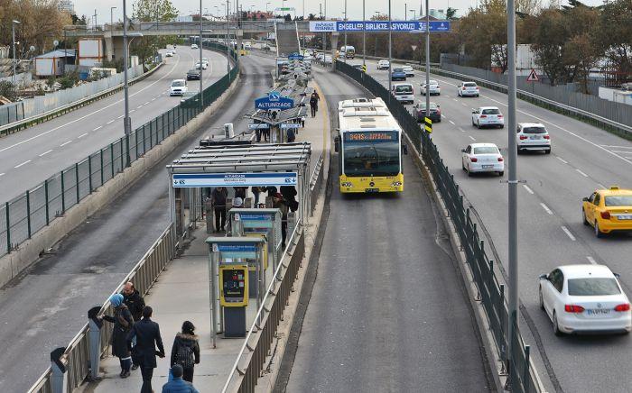 Стамбульский Metrobus