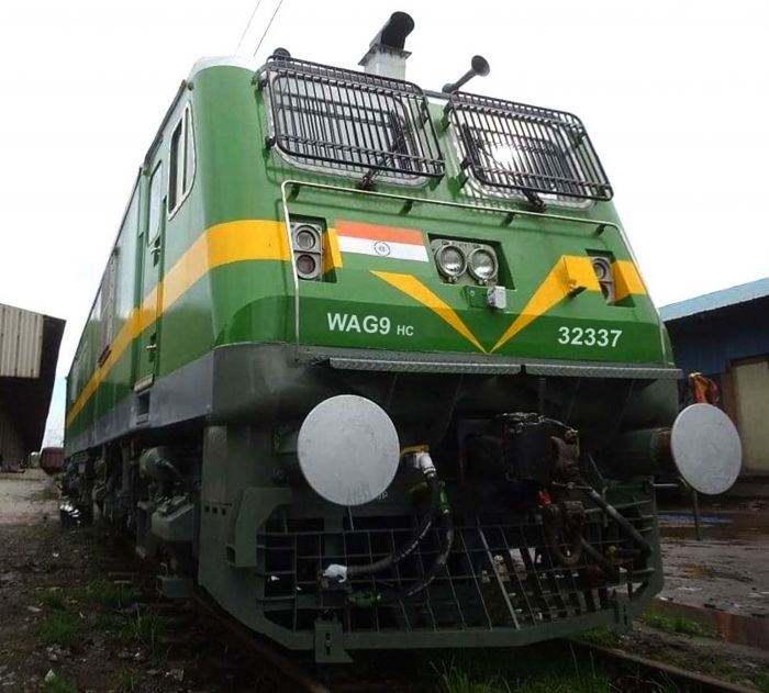 CLW built WAG 9 HC loco despatched on 10-3-19