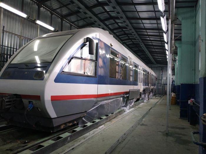 УЗ завершает модернизацию шестого поезда для Kyiv Boryspil Express (фото)