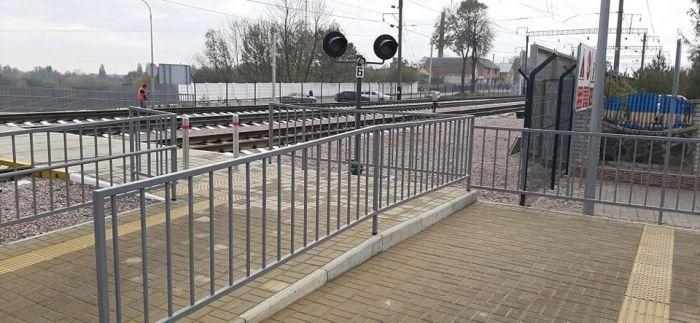 На станции Жмеринка открыли лабиринтный переход через ж/д пути с LED-освещением и видеокамерами (фото), фото-8
