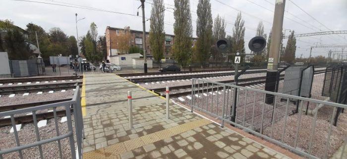 На станции Жмеринка открыли лабиринтный переход через ж/д пути с LED-освещением и видеокамерами (фото), фото-1