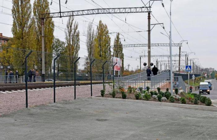 На станции Жмеринка открыли лабиринтный переход через ж/д пути с LED-освещением и видеокамерами (фото), фото-9