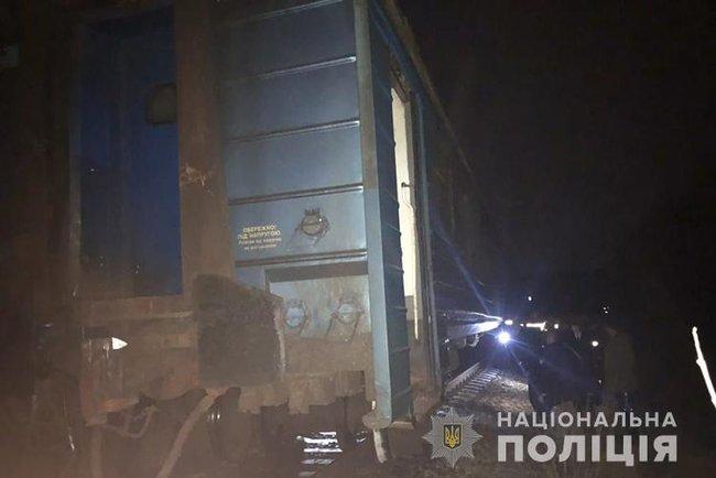 На Тернопольщине случилась ж/д авария с пассажирским поездом (фото)