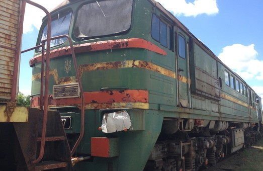 Чернобыльская АЭС продает старые локомотивы (Фото). Новости Днепра