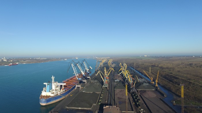 Впорт «Южный» прибыло первое судно с североамериканским  углем