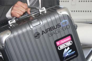 Airbus разработала для пассажиров инновационный чемодан с GPS (фото)