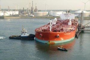 В Одессу прибыл первый в 2018 году танкер с азербайджанской нефтью для Кременчугского НПЗ