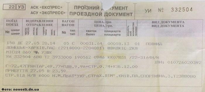 Купить на поезд билет москва донецк