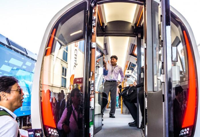 Stadler поставил первый поезд для одного из самых узких метрополитенов мира (фото)