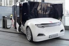 Украинский электромобиль Synchronous - презентация в Киеве