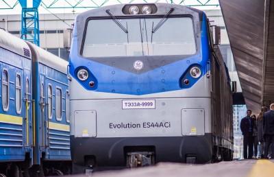 Локомотив на американский мотив: в Киеве представили тепловоз GE для УЗ