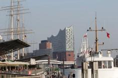 Вольный и ганзейский город Гамбург или броуновское движение на Эльбе (фото)