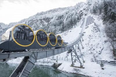 Самый крутой фуникулер - в Швейцарии и в мире